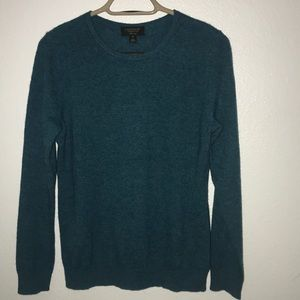 Cashmere Charter Club sweater greens long sleeve M